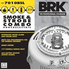 Smoke Alarm with Strobe
