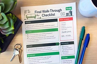 Final Walk Through – Buying a House