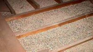 Vermiculite in Attic - Asbestos Hazard
