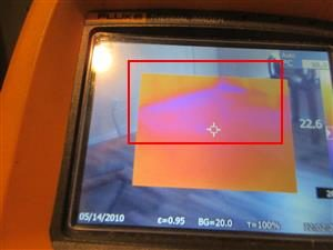 Insulation Defects - Thermal Imaging