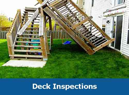 Deck Inspections - Barrie Home Inspection