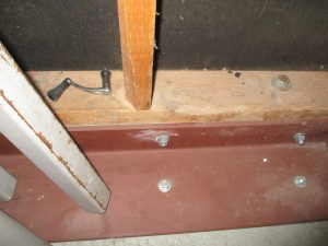 Structural Repair of concrete floor and wall joint